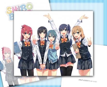 『SHIROBAKO』設定資料集の表紙絵公開! りーちゃんいろいろでかいwww