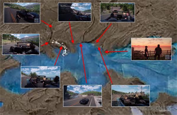 『FF15』のマップサイズが判明!! 「ウィッチャー3」「GTA5」のMAPに比べて10倍くらいある