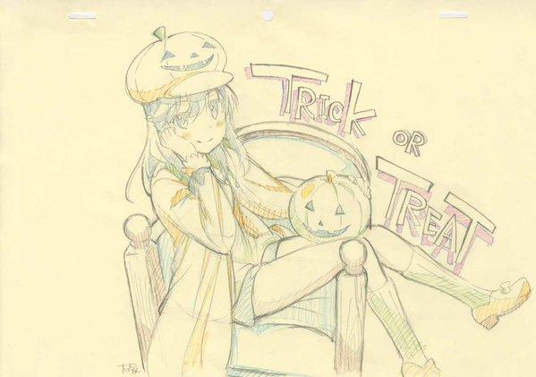 【画像・小ネタ】『のんのんびより』アニメスタッフが描いたハロウィンコスをしたほたるんが可愛い!!