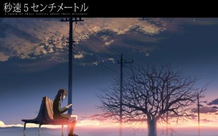 アニメ「秒速5センチメートル」 がNHKで今日深夜に放送! 見たら・・・・になるアニメ