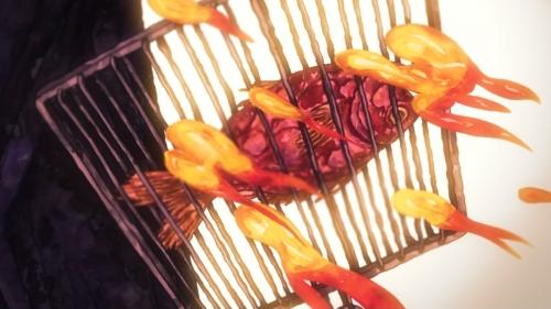 『スペース☆ダンディ シーズン2』第16話・・・湯浅政明回!せっかく喋る魚だったのに焼き魚になってワロタwwww作画も凄かったな