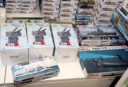 艦これ特需 : 模型業界に波及 艦艇プラモ売り上げ5倍
