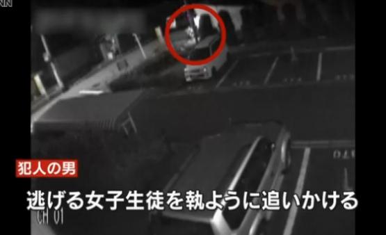 【動画】大阪女子高生を追い回しながら何度も斬りつけた通り魔の防犯カメラ映像公開! お互い全力疾走でマジKOEEEEE