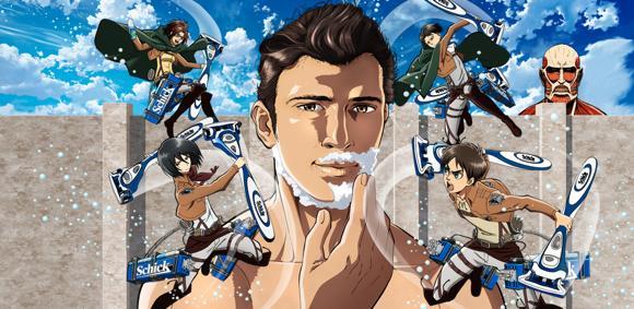 【コラボしまくりの進撃】『進撃の巨人×Schick』コラボオリジナル動画公開! さらに チョコボールともコラボ決定