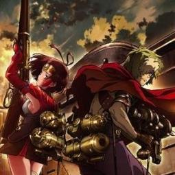 ギルクラ監督の新作アニメ『甲鉄城のカバネリ』  公式「カバネリはギルクラの時からの荒木監督へのラブコールが実りノイタミナで実現、よければこれを機にギルクラの復習をしてね」