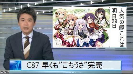 【悲報?】冬コミ1日目は『ごちうさ』グッズ全て完売せず!!!