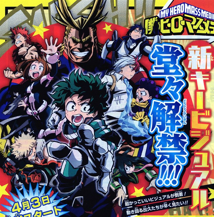Boku No Hero Academia New Key Visual Anime A truth that midoriya izuku faces when he is harassed by his classmates with unique superpowers. reddit