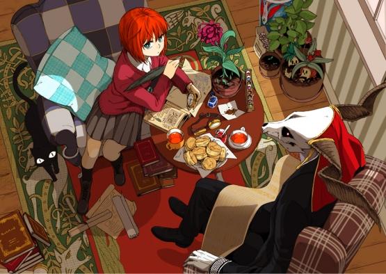 漫画『魔法使いの嫁』 新サイトで重大発表(3月10日12時)! アニメ化きたか