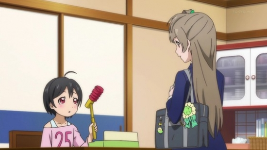 『ラブライブ!2nd Season』 第4話に、にこちゃんの弟が出てきて事に対し百合厨が描いた漫画