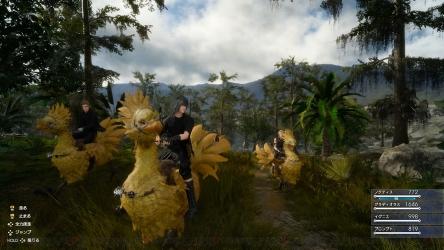 PS4『ファイナルファンタジー15』バス釣りをしている画像が公開される!これは神ゲーの予感