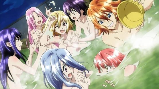 『クロスアンジュ 天使と竜の輪舞』第7話・・・ようやく隊長らしい事やってチームもいい感じに! しかしこのアニメ風呂多すぎない!?