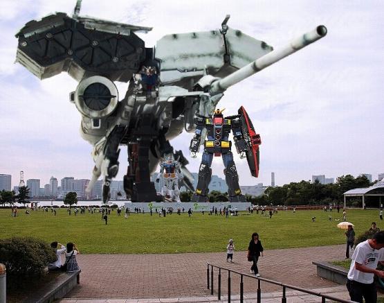 2020年東京五輪は「ガンダム」がお・も・て・な・し? 実物大のガンダムや量産型ジムが会場を警備できたらファンは感涙するはず