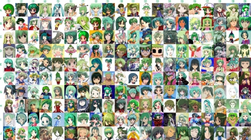 ピンクや緑の髪、3次元だと微妙すぎるのに、アニメに登場するとなぜ可愛く見えてしまうのか