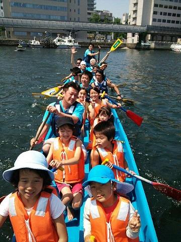 H26年横浜ドラゴンボート大会(乗船状況)