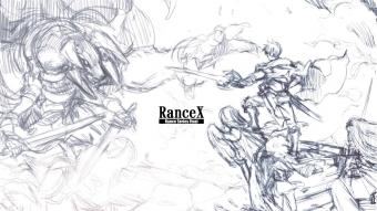 ランス10(仮) ラフ画1