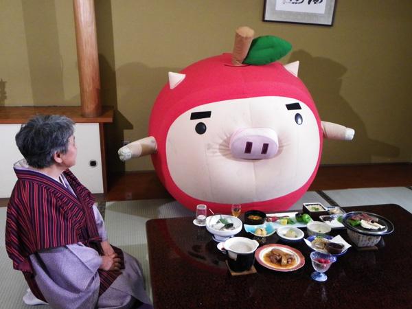 りんご丸 ホテル白銀の夕食を食す!