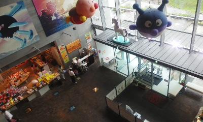 ミュージアムの中