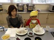 和食親子クッキングMさん親子ブログ用