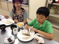 和食親子クッキングIさん親子ブログ用