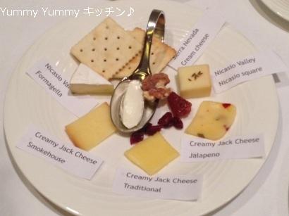 レシピブログ アメリカ流!ヘルシークッキングセミナー チーズ説明付き