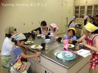 夏休み親子クッキング 20140805様子5ブログ用