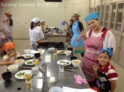 夏休み親子クッキング 20140805様子4ブログ用