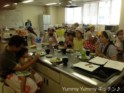 夏休み親子クッキング 20140805様子7ブログ用
