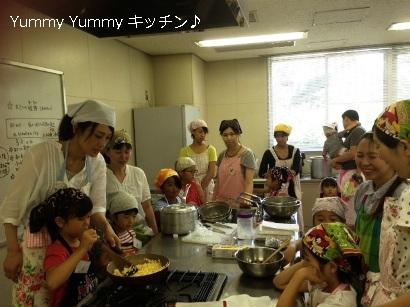 夏休み親子クッキング 20140805様子1ブログ用