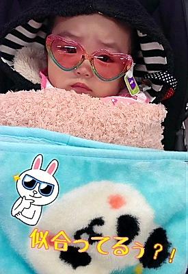 サングラス赤ちゃん