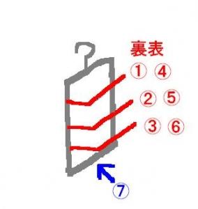 7連タオルハンガー