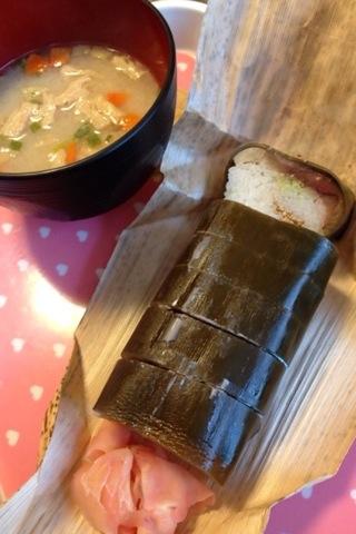 2014-02-23 鯖寿司&粕汁