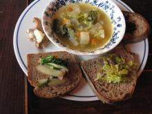 はちはちカフェメニュー・オープン&スープ