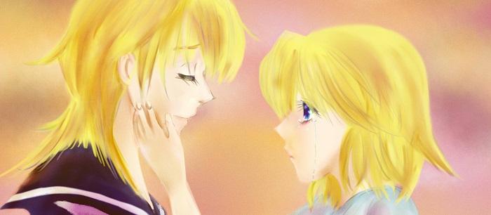 「レンとリン」2