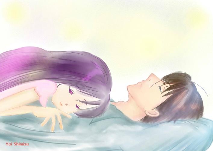 「微睡む」
