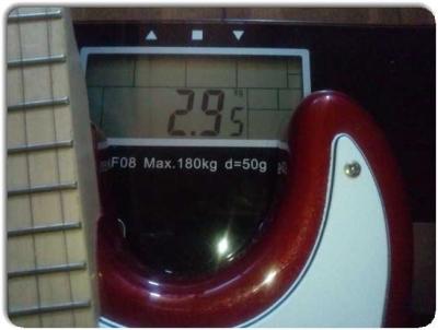 PLAYTECHのST250の重さ