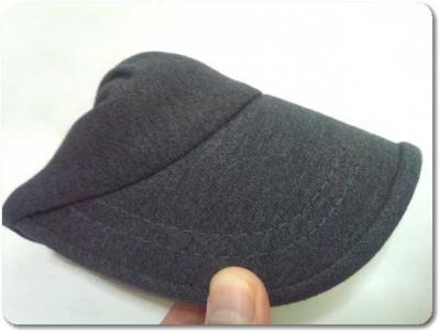 ナコタの帽子はコンパクトになる