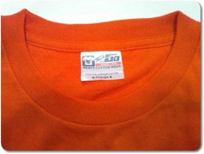 楽天市場の問屋街半袖Tシャツ感想6