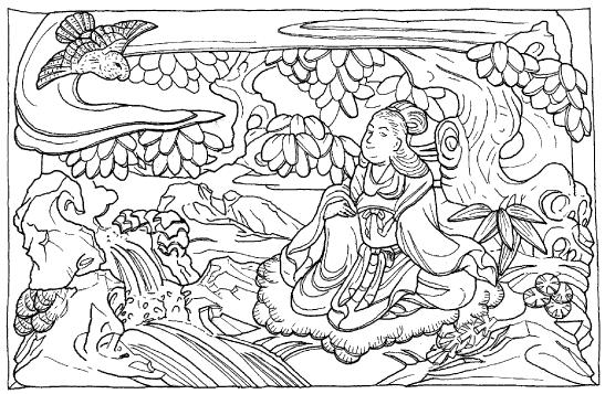 「鷹」の場面