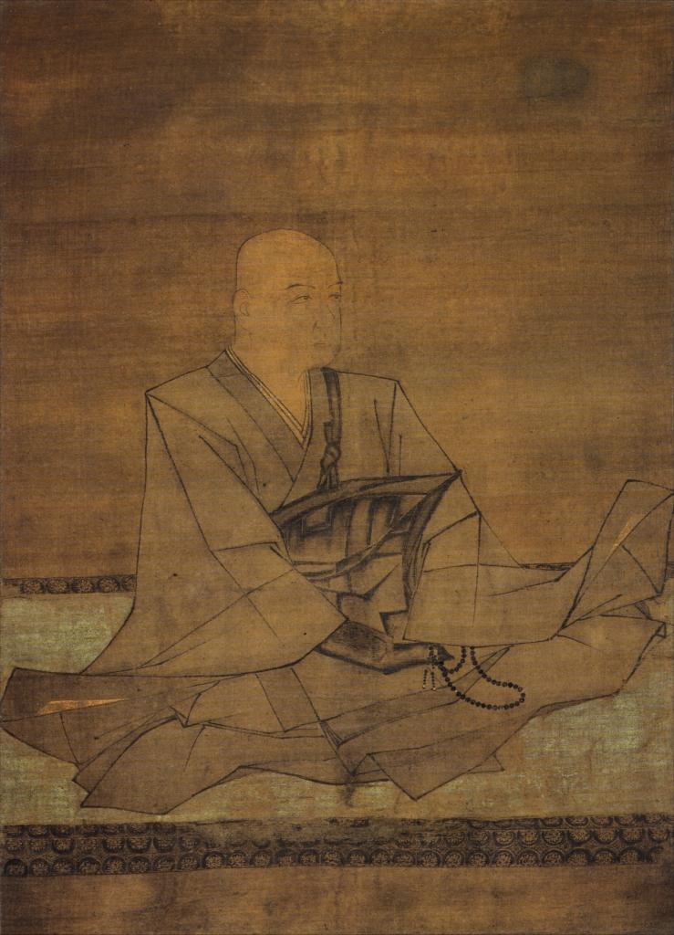 北条実時像(国宝、金沢北条氏肖像のうち)