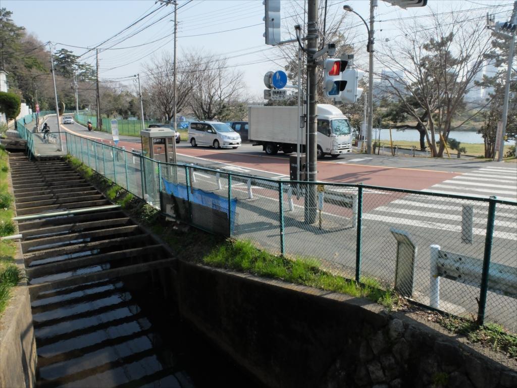 多摩川に平行して丸子川が流れている_3