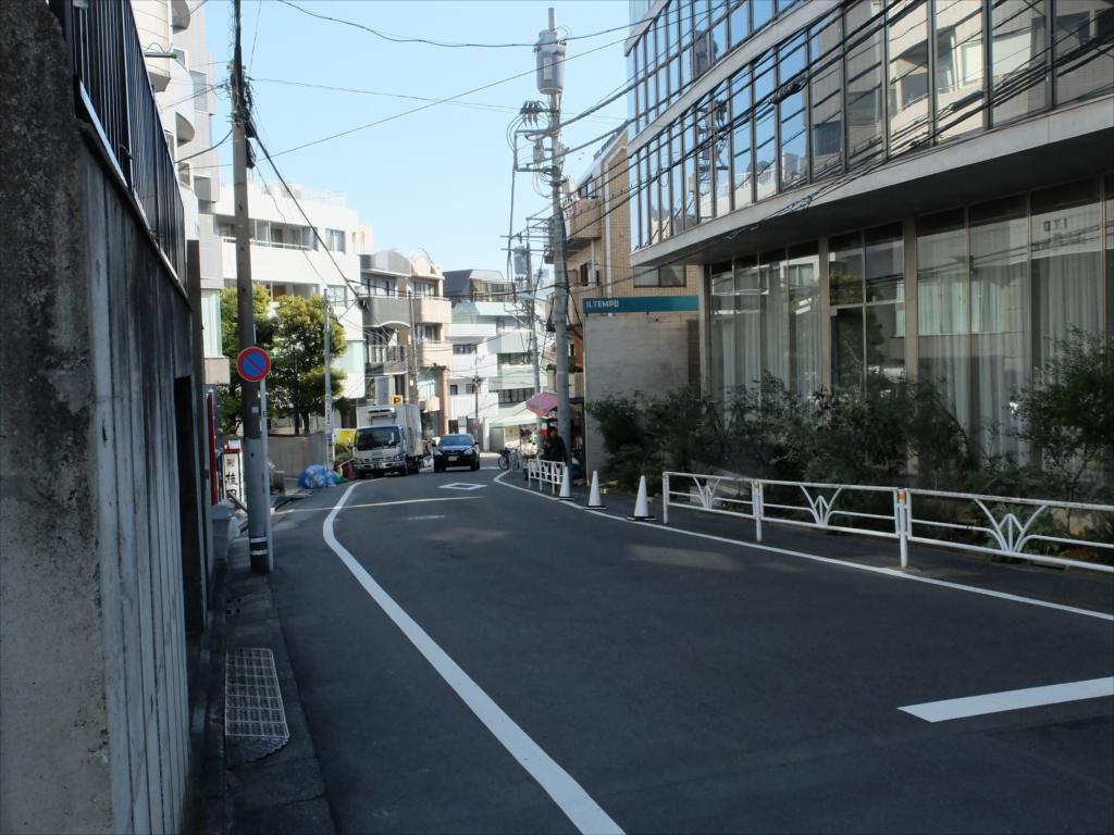 渋谷橋交差点までの道_3