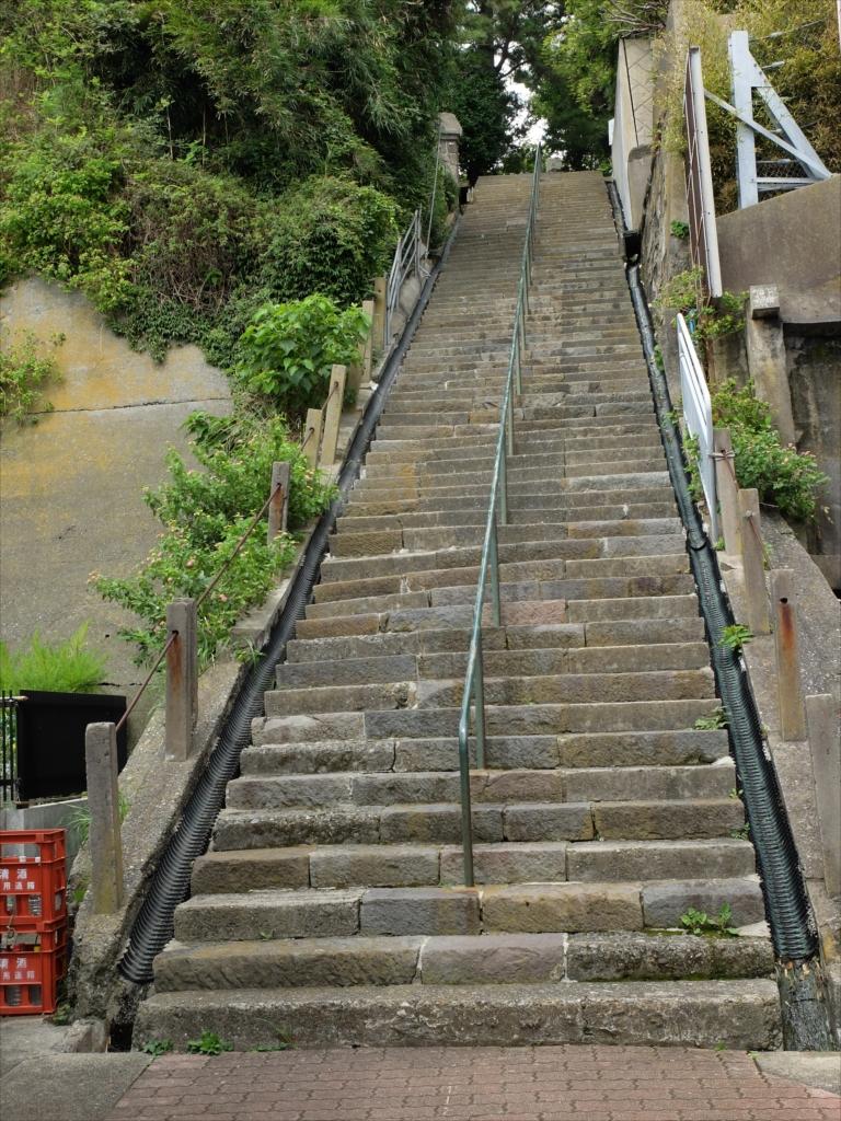 秋葉大権現の階段を上った先からの写真_1