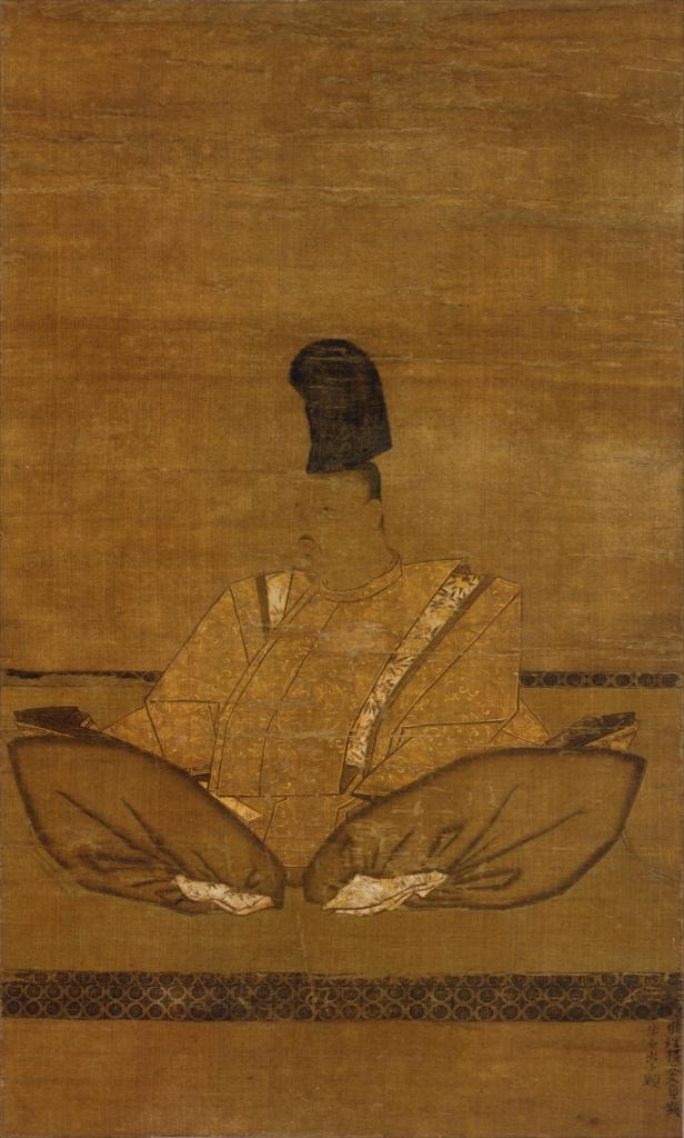 金沢貞顕像(国宝、金沢北条氏肖像のうち)