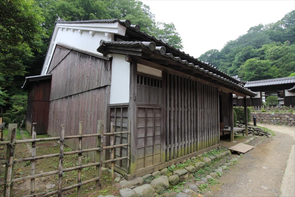 井岡家住宅(いおかけじゅうたく)《宿場》の外観