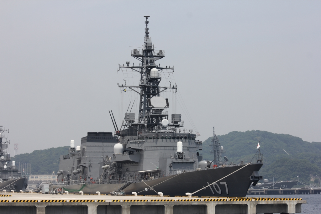 海上自衛隊の護衛艦『いかづち』