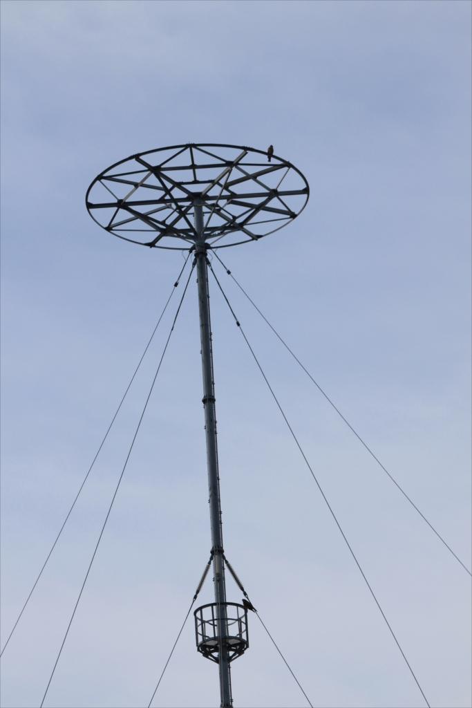 電波送出塔