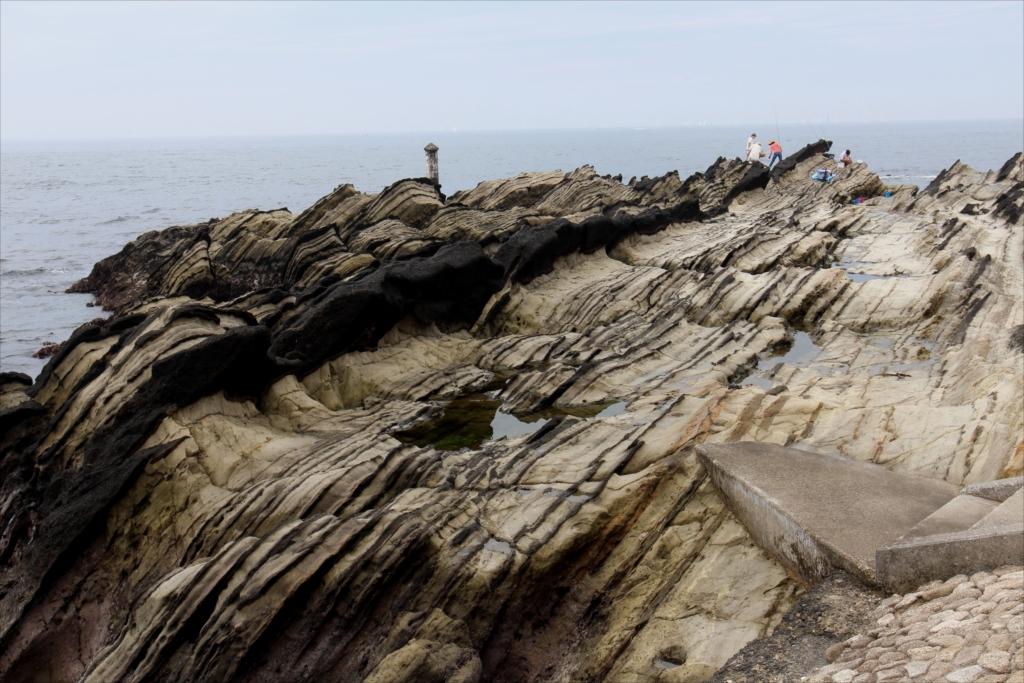 見事な海蝕台_3