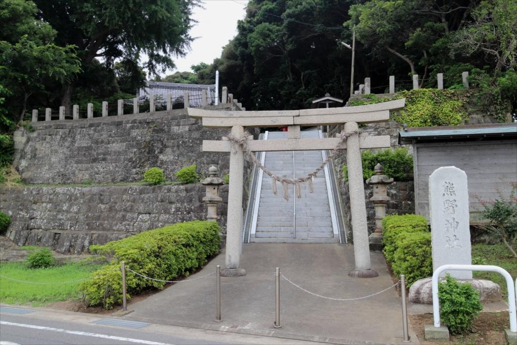 熊野神社_鳥居