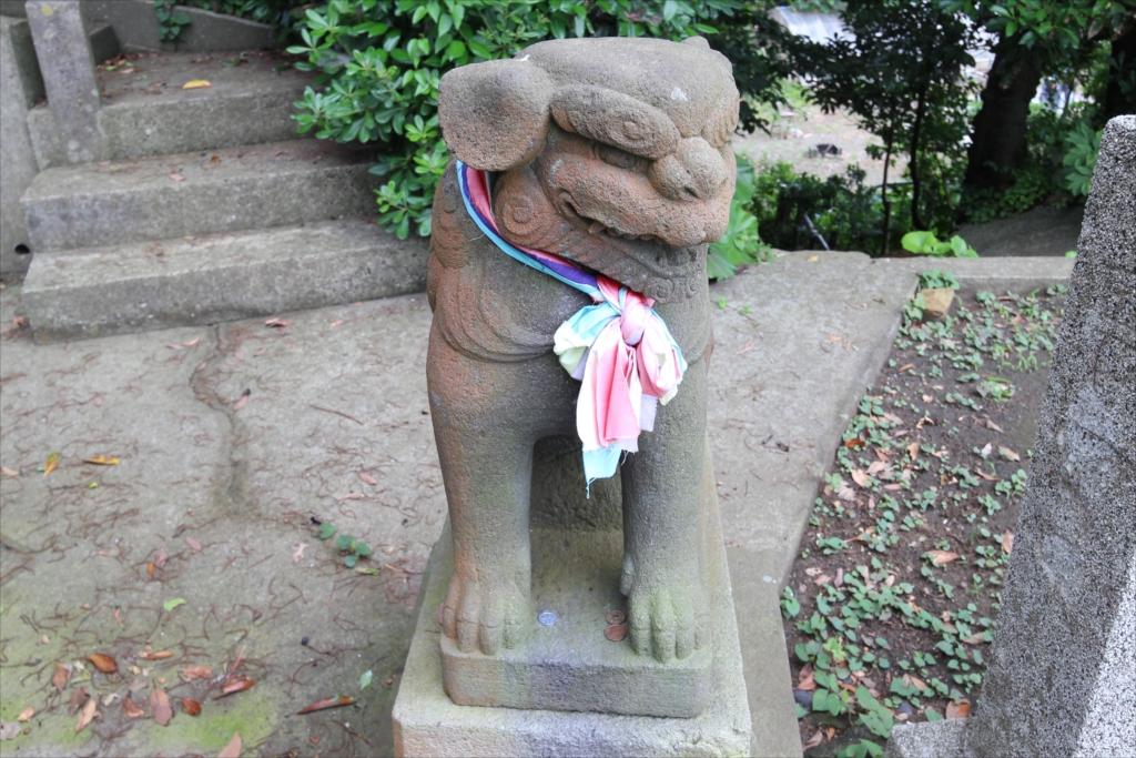 熊野神社_狛犬_1