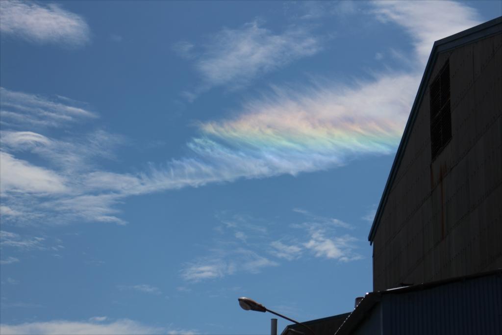 彩雲が出迎えてくれた_1